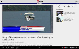 Screenshot of WSFA 12 News