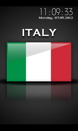 Italy - Flag Screensaver
