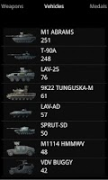 Screenshot of BF3Stats
