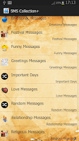 Screenshot of All In One SMS Library