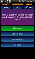 Screenshot of Trivia Quiz