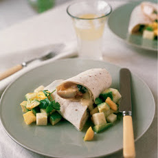 Turkey and Green Chile Burritos
