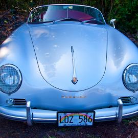 by Keith Sutherland - Transportation Automobiles ( car, vintage, silver, porsche, auto, hawaii, heritage )