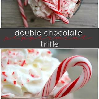 Double Chocolate Peppermint Trifle