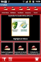 Screenshot of Cricket Highlights Videos