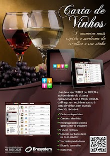 Carta de Vinhos para Tablets - screenshot
