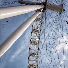 London Eye by Byran Forbes - City,  Street & Park  Amusement Parks ( london eye, uk, london, 2014, ferris wheel )