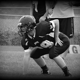 Ready Set Go by Kimberly Havens-Lott - Sports & Fitness American and Canadian football ( football, miami trace, #28, henize, fun )