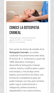 Osteopatia - screenshot