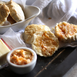 Old-Fashioned Biscuits with Chili-Honey Butter