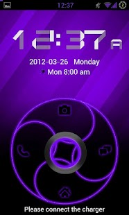 GoLocker Theme DeepPurple - screenshot