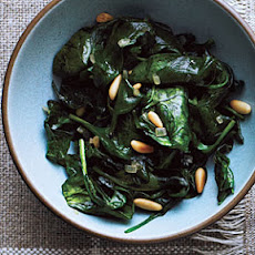 Sauteed Spinach and Pine Nuts