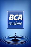 Screenshot of BCA mobile