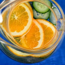 Cucumber-Orange Water Recipe