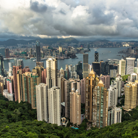 From The Top... by Happy Sugianto - Landscapes Travel ( canon, hong kong, the peak, travel, view, china )