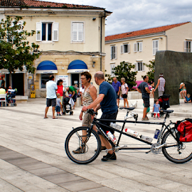 journey through Poreč-Croatia by Branka Radmanić - Transportation Bicycles