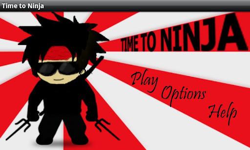Time to ninja