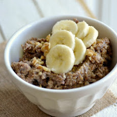 Crock Pot Banana Bread Quinoa