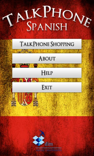 TalkPhone Spanish Shopping