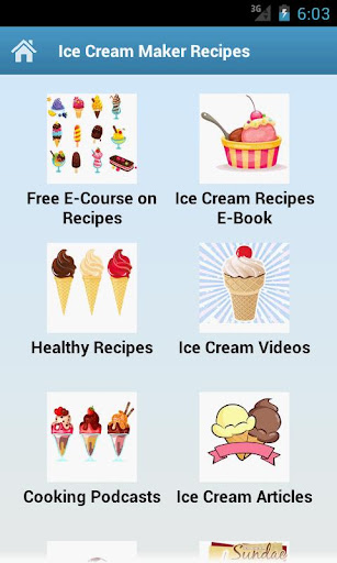 Ice Cream Maker Recipes