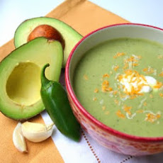 Chilled Guacamole Soup