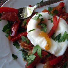 Tunisian Eggs & Peppers