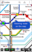 Screenshot of London Underground