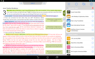 Screenshot of NIV Quest Study Bible