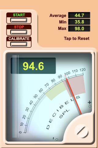 Decibel Volume Meter