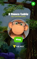 Screenshot of 10monkeys Multiplication