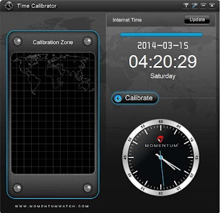 Momentum Time Calibrator - screenshot