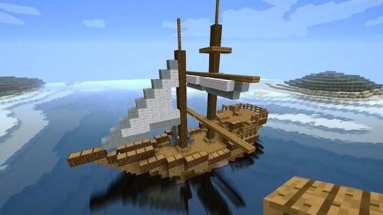 Как сделать корабль minecraft