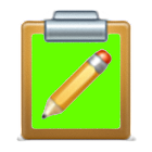 Clipboard + programs icon