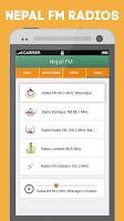 Screenshot of Nepal.FM