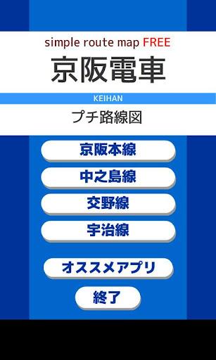 京阪路線的免費