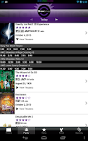Screenshot of Showtimes