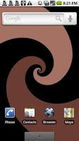 Screenshot of HypnoTwister Live Wallpaper