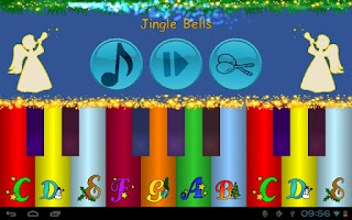 Screenshot of Xmas Music Piano Player Baby