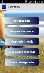 Respiración - screenshot