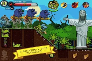 Screenshot of Zoombie Digger