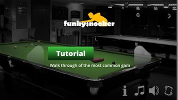 Screenshot of Funky Snooker