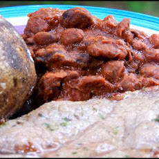 Southwestern Steak and Beans Crock Pot