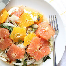 Citrus Salad with Roasted Fennel and Mint