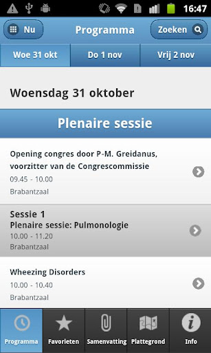 nvk-congres for android screenshot