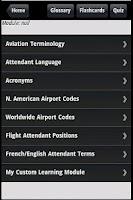 Screenshot of Flight Attendant Prep & Quiz