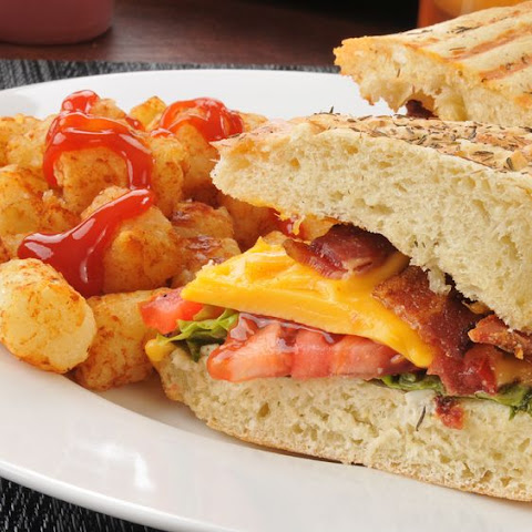 BLT Grilled Cheese Sandwich Recipe | Yummly