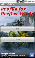 Screenshot of Profile for Perfect World
