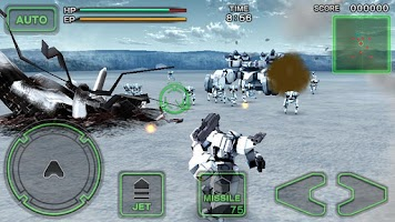 Screenshot of Destroy Gunners SP / ICEBURN!!