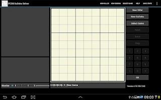 Screenshot of PCDB SuDoku Solver
