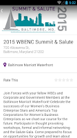 Screenshot of WBENC Events